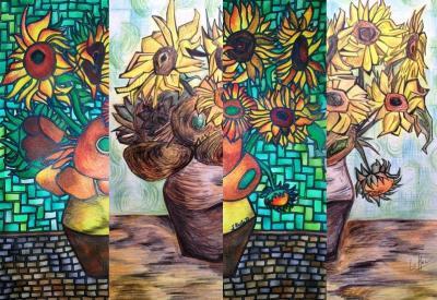 Porovnání slunečnice